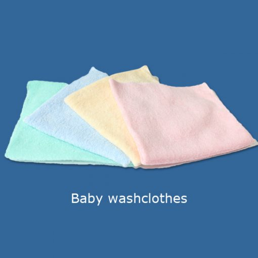 Baby washclothes