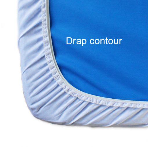 Draps contour pour matelas de couchettes