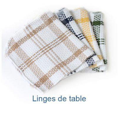 Linges de table