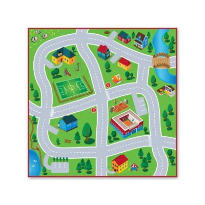 Tapis de jeux pour petites voitures