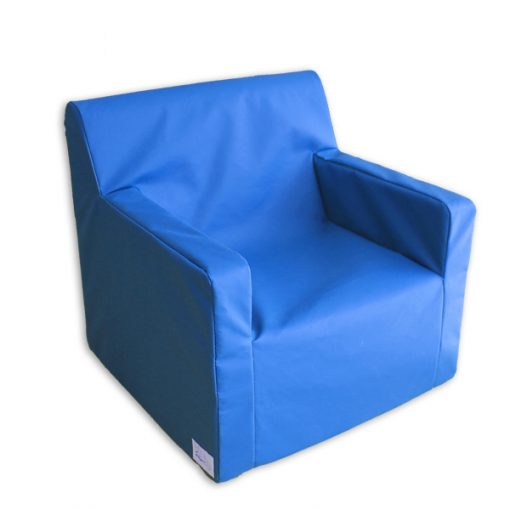 Seater couches with armrests for children