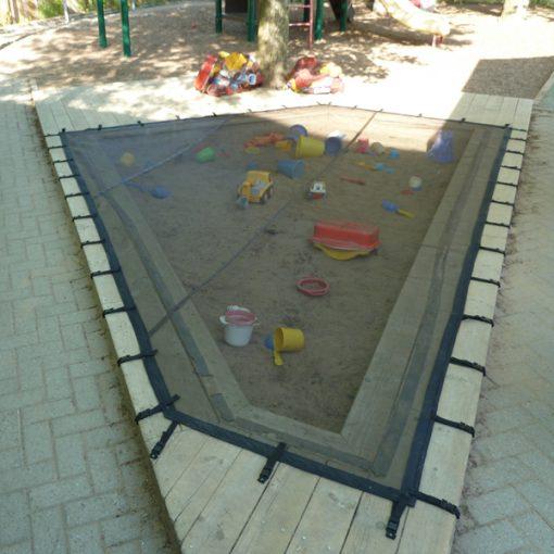 Protège carré de sable