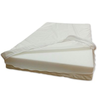 Housses pour matelas pour couchettes en vinyle blanc