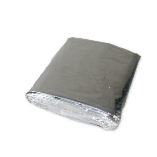 Couverture d'urgence en aluminium