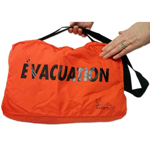 Evacuation bags (without blanket)